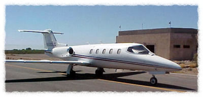 The airport facility can accommodate any private plane.