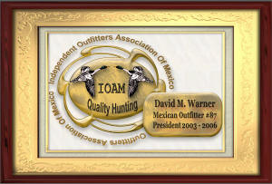 Independent Outfitters Association of Mexico sEAL