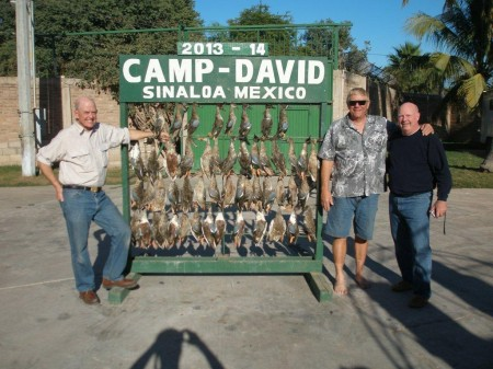 Nice morning hunt for a couple of fun hunters. Come on down the hunting is great!